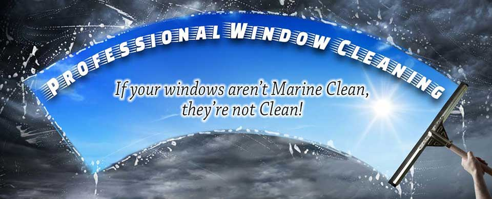 Marine Clean Windows